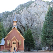 This chapel is the park's oldest building still standing.